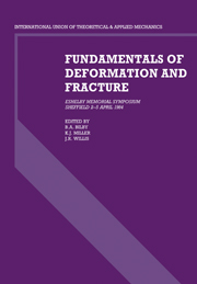 Fundamentals of Deformation and Fracture