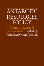 Antarctic Resources Policy