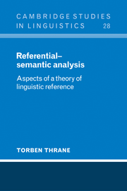 Referential-Semantic Analysis