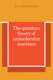 The Quantum Theory of Unimolecular Reactions