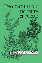Photosynthetic Pigments of Algae