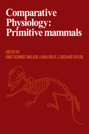Comparative Physiology: Primitive Mammals