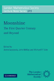 Moonshine - The First Quarter Century and Beyond
