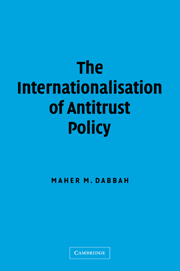The Internationalisation of Antitrust Policy