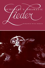 Schubert's Dramatic Lieder