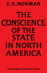The Conscience of the State in North America