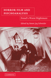 Horror Film and Psychoanalysis