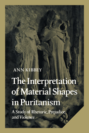 The Interpretation of Material Shapes in Puritanism