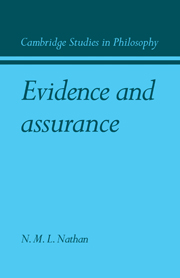 Evidence and Assurance
