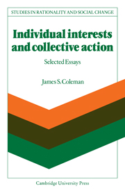 Individual Interests and Collective Action
