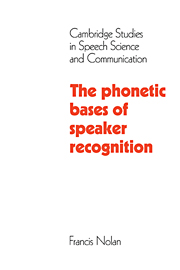 The Phonetic Bases of Speaker Recognition