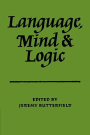 Language Mind and Logic