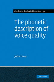 The Phonetic Description of Voice Quality