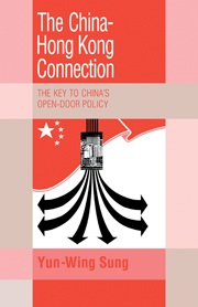 The China-Hong Kong Connection