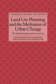 Land Use Planning and the Mediation of Urban Change