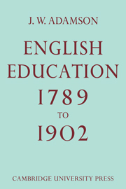 English Education,1789-1902