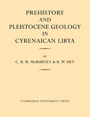 Prehistory and Pleistocene Geology in Cyrenaican Libya
