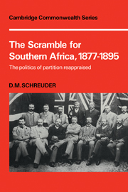 The Scramble for Southern Africa, 1877-1895
