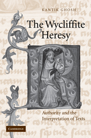 The Wycliffite Heresy