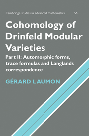 Cohomology of Drinfeld Modular Varieties