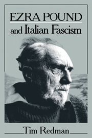 Ezra Pound and Italian Fascism