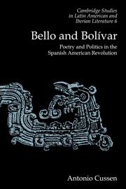 Bello and Bolívar