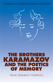 The Brothers Karamazov and the Poetics of Memory