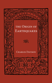 Origin of Earthquakes