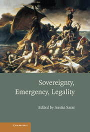 Sovereignty, Emergency, Legality