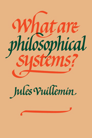 What Are Philosophical Systems?