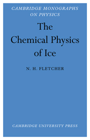 The Chemical Physics of Ice