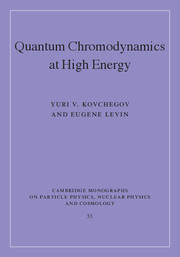 Quantum Chromodynamics at High Energy