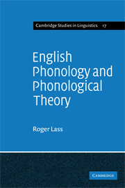 English Phonology and Phonological Theory