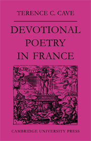 Devotional Poetry in France c.1570–1613