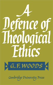 A Defence of Theological Ethics