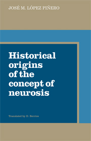 Historical Origins of the Concept of Neurosis