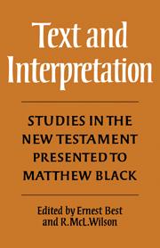 Text and Interpretation
