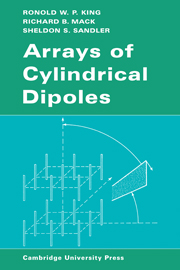 Arrays of Cylindrical Dipoles