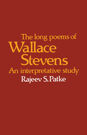 The Long Poems of Wallace Stevens