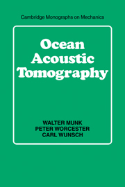 Ocean Acoustic Tomography