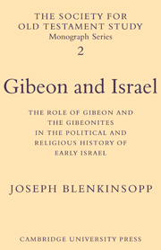 Gibeon and Israel