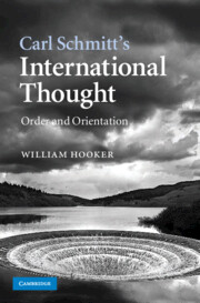 Carl Schmitt's International Thought
