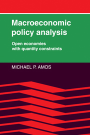 Macroeconomic Policy Analysis