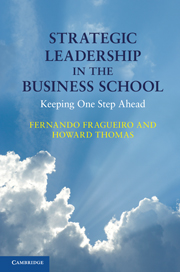 Strategic Leadership in the Business School