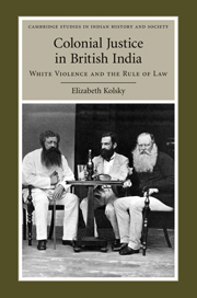 Colonial Justice in British India