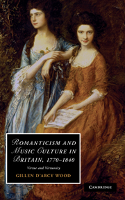 Romanticism and Music Culture in Britain, 1770–1840