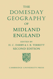 The Domesday Geography of Midland England