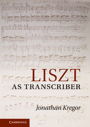 Liszt as Transcriber
