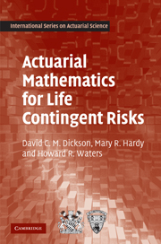 Actuarial Mathematics for Life Contingent Risks