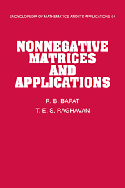 Nonnegative Matrices and Applications